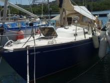 Centurion 32: A quai en martinique